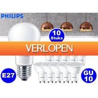 DealDonkey.com: 10 x Philips LED-lampen