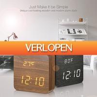 Priceattack.nl 2: Houten LED klok met voicecontrol