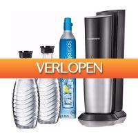 Coolblue.nl 3: SodaStream Crystal + 3 karaffen