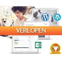 1DayFly Sale: 3 cursussen in 1: Excel, Photoshop en Wordpress