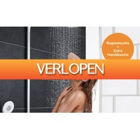 Dealqlub.com: Ronde regendouche + extra handdouche