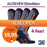 1dagactie.nl: 4 paar 24-seven skisokken