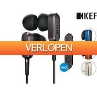 iBOOD.be: KEF M100 hi-res in-ear headphones