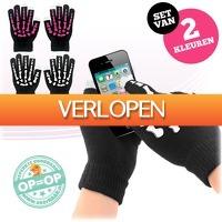 voorHAAR.nl: 2 paar touchscreen handschoenen