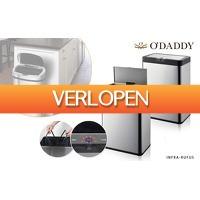 Dealqlub.com: O'Daddy infrarood prullenbakken