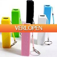 Uitbieden.nl 3: Laad je Smartphone op met de  2600 mAh Powerbank