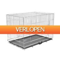VidaXL.nl: Opvouwbare XXL hondenbench