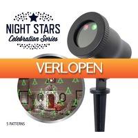 Stuntwinkel.nl: Night Stars Laser Light 5 patronen + remote