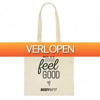 BodyenFitshop.nl: Canvas tas