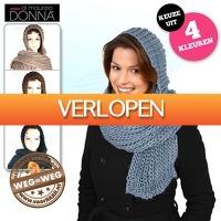 voorHAAR.nl: Donna di Maurizio sjaal met muts