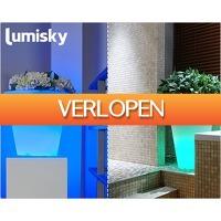 1DayFly Outdoor: Sfeervolle gekleurde LED bloempotten