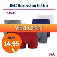 1dagactie.nl: 6-pack J&C boxershorts