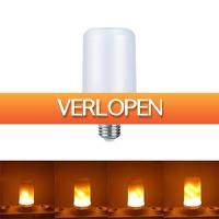 Dennisdeal.com: LED vlam effect gloeilamp
