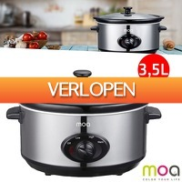 Wilpe.com - Home & Living: Moa Slow Cooker 3,5 liter