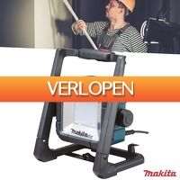 Wilpe.com - Tools: Makita LED DML805 werklamp