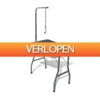 VidaXL.nl: Inklapbare trimtafel met aanlijnoptie