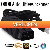 Uitbieden.nl 2: OBDII auto scanner met USB kabel interface