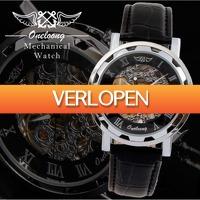 GroupActie.nl: Luxe mechanisch herenhorloge