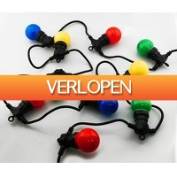 Stuntwinkel.nl: Feestverlichting met 20 gekleurde lampen