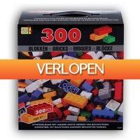 Voordeeldrogisterij.nl: 300 bouwblokken voor LEGO en meer bouwsystemen