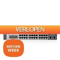 Centralpoint: HPE V1410-24-2 G switch refurbished