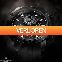 Watch2day.nl: Alpha Sierra Intruder XL Chronographs