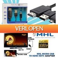 KoopjeNU: MHL S3/S4/Note 3/4 micro-HDMI adapter