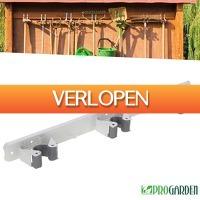 Wilpe.com - Outdoor: Pro Garden tuingereedschap ophangsysteem