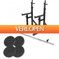 Befit2day.nl: Multi squat rack 40 kg