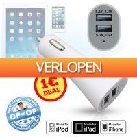 voorHEM.nl: 12V auto USB-stekker