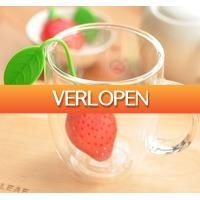 TheBestDeals.nl: Set van 4 thee aardbeien