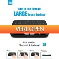 Priceattack.nl: Draadloos 2.4GHz Touchpad Mini toetsenbord
