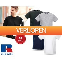 1DayFly Sale: 10-pack Russell slim-fit T-shirts