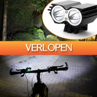 CheckDieDeal.nl 2: Xtreme LED fietslamp 2000 Lumen