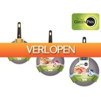 iBOOD Home & Living: Greenpan Sienna 3D koekenpannenset