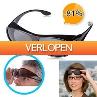 Slimmedealtjes.nl: Overzet zonnebril met polariserende glazen