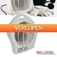 GroupActie.nl: Bellson elektrische ventilatorkachel
