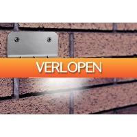 Marktplaats Aanbieding: 2 x Eco Solar LED-buitenlamp