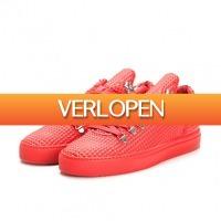Littlelegends.nl: Filling Pieces mountain cut red sneakers