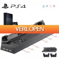 Priceattack.nl 2: 4-in-1 vertical stand + USB Hub PS4