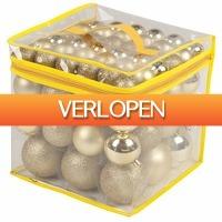 Stuntwinkel.nl: 77goudkleurige Kerstballen