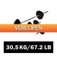 VidaXL.nl: Halterset 30,5 kg