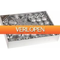 Stuntwinkel.nl: 33-delige plastic kerstballen set