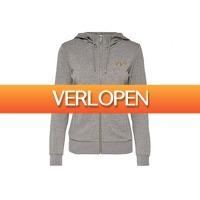 Avantisport.nl: Only Play Gold Glitter Zip Hood Sweat
