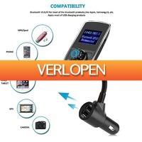 GroupActie.nl: Luxe en handige Bluetooth carkit