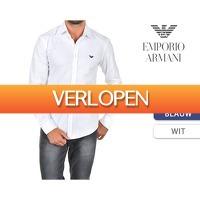1DayFly: Emporio Armani slim fit overhemd