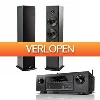 Hificorner.nl: Denon AVR-X1300W + Polk Audio T50