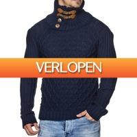 Brandeal.nl Classic: Tazzio sweater met knopen