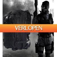 Uitbieden.nl 3: Oxford Military Combat Tactical trekking backpack