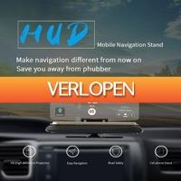 GroupActie.nl: HUD navigatiedisplay